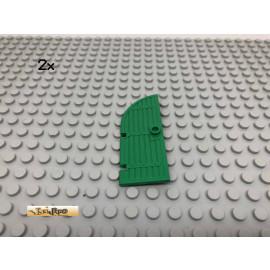 LEGO® 2Stk 1x3x6 Tür Castle Burg Grün, Green 2554 231
