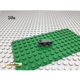 LEGO® 10Stk Technic Liftarm Pin Verbinder Dunkel Grau, Dark Gray 42003