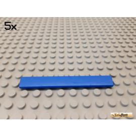 LEGO® 5Stk Fliese / Kachel 1x8 Basic blau 4162