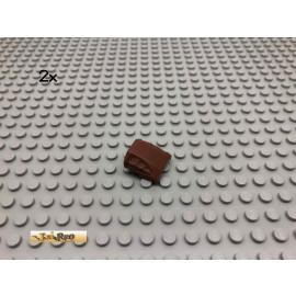 LEGO® 2Stk 2x2 Schrägstein Motorhaube Brick Rotbraun, Reddish Brown 44675 187