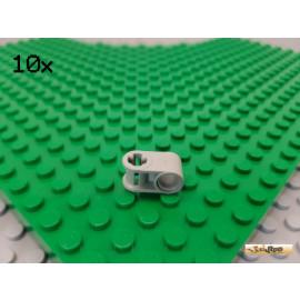 LEGO® 10Stk Technic Verbinder Kreuzachse alt-hellgrau 6536