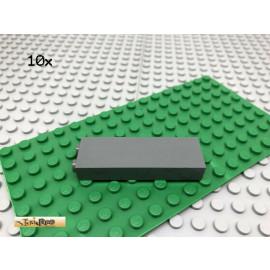 LEGO® 10Stk 1x2 Säule Stütze Wand Dunkel Grau,Dark Gray 2454
