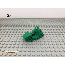 LEGO® 2Stk Technic Bionicle Fuß Grün, Green 32475 121