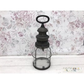 Chic Antique  Laterne LED Lampe Tischdekoration 25282-25