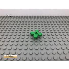 LEGO® 3Stk Blume Blüte  Hellgrün, light green 4727 12