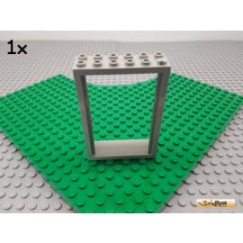 LEGO® 1Stk Tür / Rahmen / Gefängnis / Kerker 2x6x7 alt-hellgrau 4071