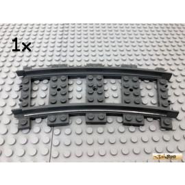 Lego® 1Stk Schienen Gleise Kurve gebogen Dunkel Grau 53400 Zug Eisenbahn