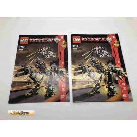 Lego 7713 Bauanleitung NO BRICKS!!!! Exoforce
