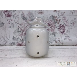 Clayre & Eef  Duftlampe Aroma-Brenner Vintage Shabby 6CE0602W