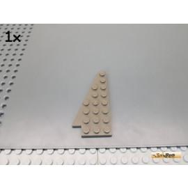 LEGO® 1Stk Flügel / Flügelplatte 8x4 links alt-dunkelgrau 3933