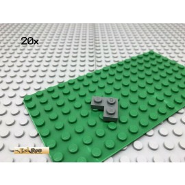 LEGO® 20Stk 2x2 Platte Plate Eck Dunkel Grau,Dark Gray 2420