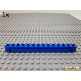 LEGO® 1Stk Stein 1x14 mit Nut / Führung blau 4217