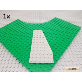 LEGO® 1Stk Keil / Flügelplatte 6x12 rechts alt-hellgrau 30356