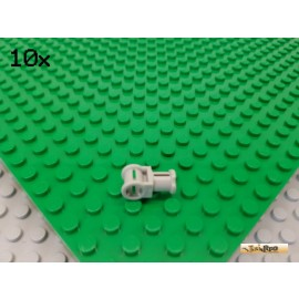 LEGO® 10Stk Technic Verbinder Achse alt-hellgrau 32039