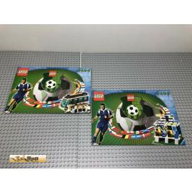 LEGO® 3403 3404 Bauanleitung NO BRICKS!!!!