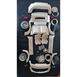 Pocher Porsche GT2 Speedster 1/8 Transkit Design BBS Felge