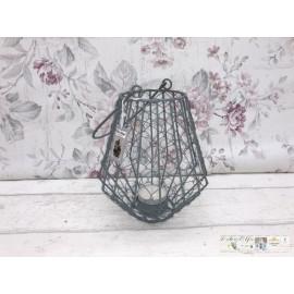Chic Antique  Laterne Windlicht Teelicht Tischdekoration Metall 64200-00