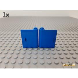 LEGO® 1Stk Tür / Türblatt 1x3x3 rechts + links (Griff voll) blau 3192 / 3193