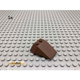 LEGO® 1Stk 4x4 Keil Keilstein Cockpit Braun, Brown 6069 165