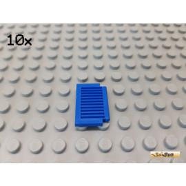 LEGO® 10Stk Fensterläden / Klappe 1x2x2 blau 3582