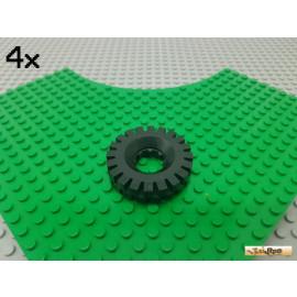 LEGO® 4Stk Reifen / Gummi ohne Felge 3482