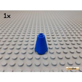 LEGO® 1Stk Stein rund / Kegel 2x2x2 blau 3942