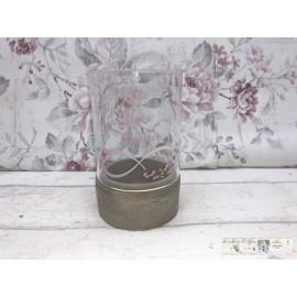 Gilde Windlicht Teelicht Tischdekoration Teelichthalter mit Spruch