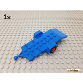 LEGO® 1Stk Anhänger / Chassis blau 817c01