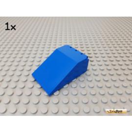 LEGO® 1Stk Windschutzscheibe / Cockpit 4x6x2 / Scharnier blau 4474