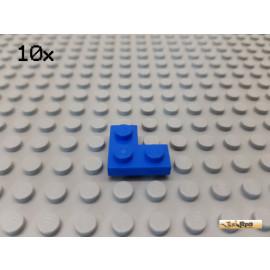 LEGO® 10Stk Platte 2x2 Ecke / Winkel blau 2420