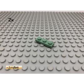 LEGO® 2Stk 1x3 Platte Plate Stein Sandgrün, Sandgreen 3623 19