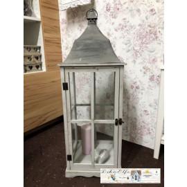 Gilde Laterne weihnachtlich Windlicht Dekoration Shabby Vintage Landhaus