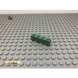 LEGO® 3Stk 1x4 Basic Stein Sandgrün, Sandgreen 3010 27