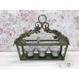Chic Antique Laterne Windlicht Teelichthalter  Windlicht Shabby  Nostalgisch