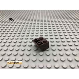 LEGO® 5Stk 2x2 45° Schrägstein negativ Dunkelbraun, Dark Brown 3660 14
