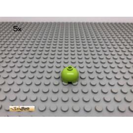 LEGO® 5Stk 2x2 Kuppel Rundsteitein Limette, Lime 30367 31