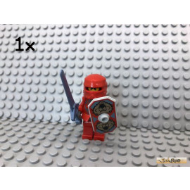 LEGO® 1Stk Knights Kingdom Castle Ritter Rot Santis Minifigur 8778 8780 8781 8799