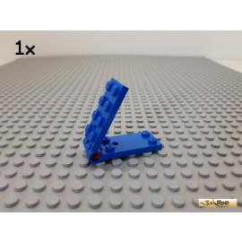 LEGO® 1Stk Platte 2x4-2x4 / Klappscharnier blau 3149