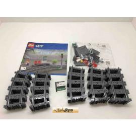LEGO® Schienen mit Banhof aus dem Set 60197