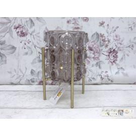 Clayre & Eef Teelichthalter Windlicht Tischdekoration 6GL2442