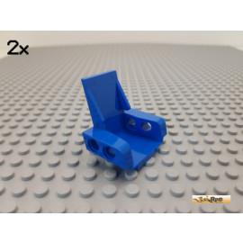 LEGO® 2Stk Technic Stuhl / Sitz 3x2 blau 2717