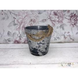 Clayre & Eef Windlicht Teelicht Teelichthalter Tischdekoration 6GL2041