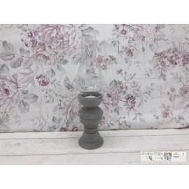 Windlicht Teelicht Teelichthalter Glas Kerzenhalter Tischdeko Shabby