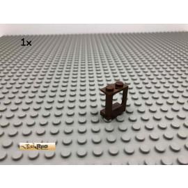LEGO® 1Stk 1x2x2 Flugzeug Fenster Stein Brick Braun, Brown 2377 78