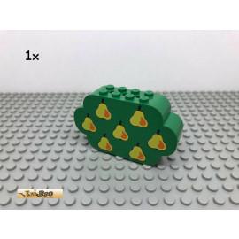 LEGO® 1Stk 2x8x4 Obstbaum Birnen Grün, Green 6214 216
