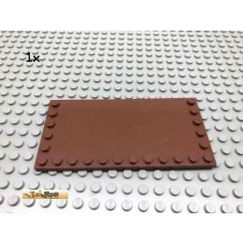 LEGO® 1Stk 6x12 Fliese mit Randnoppen Brick Rotbraun, Reddish Brown 6178 5