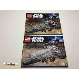 Lego 7961 Bauanleitung NO BRICKS!!!! Star Wars