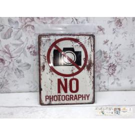 Blechschild No Photography Nicht Fotografieren Vintage Landhaus