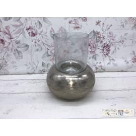 Gilde Windlicht modern Teelicht Tischdekoration Kerzenhalter