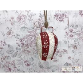Clayre & Eef  Weihnachtliche Glocke Dekoration Vintage 6Y2768M